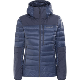 005612cacdd337 Norrøna Falketind Down Hood Jacket Women Indigo Night